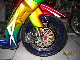 Kunci Cakram Posh new car modification mio rainbow