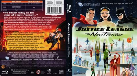 movie justice league the new frontier justice league the new frontier movie blu ray scanned