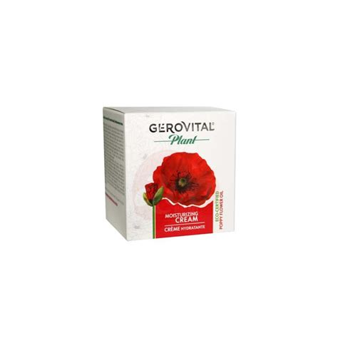 7 Must Try Products From Gerovital Plant by Crema Hidratanta Gerovital Plant 50 Ml
