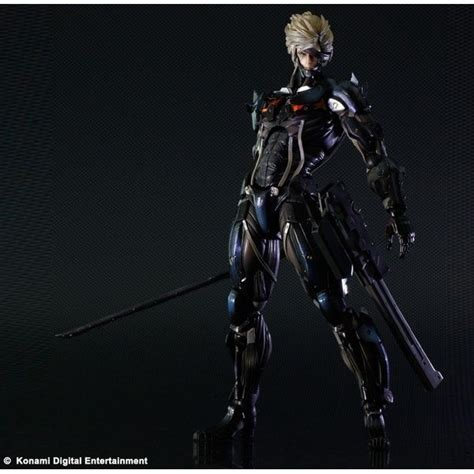 Kaos Raiden Metal Gear Rising metal gear rising revengeance play arts raiden import from japan
