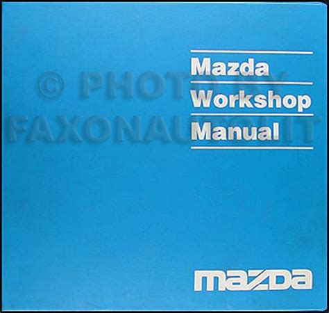 car repair manuals online pdf 1999 mazda b series plus parking system search