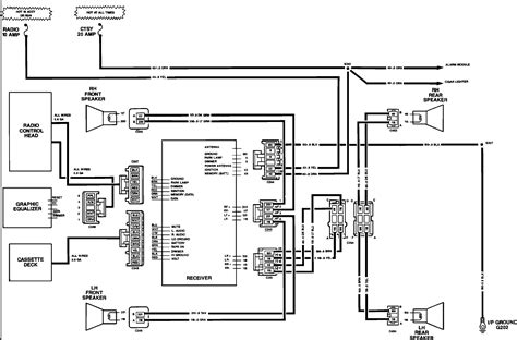 car component speaker wiring diagrams capacitor wiring