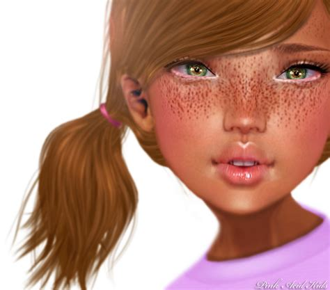 tattoo freckles dark skin second life marketplace pink acid natural beauty