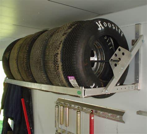 pit products  ft aluminum tire wheel rack race car trailer hauler accessory ebay