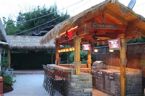 Tiki Bar Gazebo Ideas For Gazebo Transformation Bamboo Panels Thatch