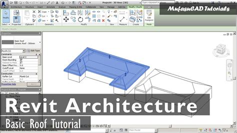 tutorial revit roof revit architecture basic roof tutorial youtube