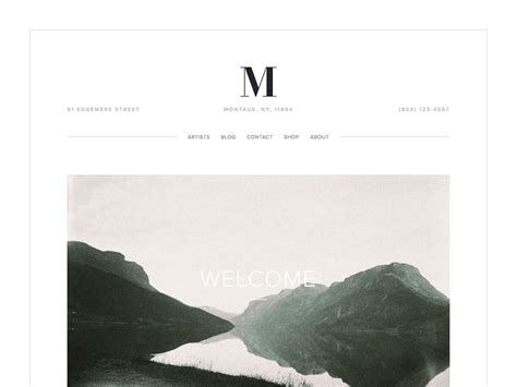 Montauk Squarespace Template Analysis Using My Head Squarespace Expert Designer And Trainer Om Squarespace Template