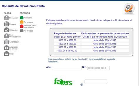 calcular devolucion de la renta 2015 devolucion de renta el salvador newhairstylesformen2014 com