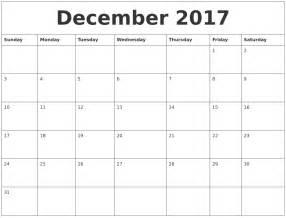 full page calendar december 2017 blank calendar 2017
