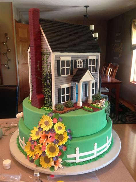 welcome home house cake this cake was made as a image cakecentral com
