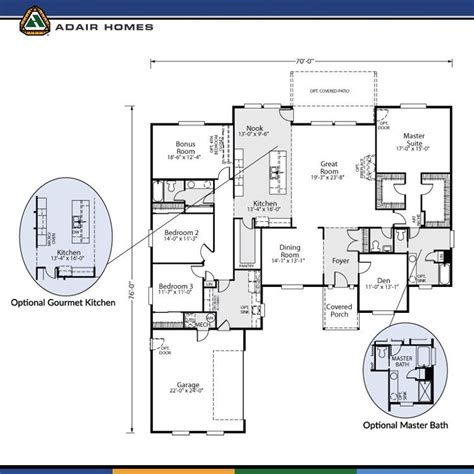 floor plans com adair homes floor plans prices fresh the cashmere 3120