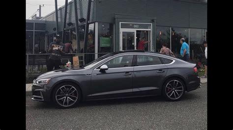 S5 Audi Sportback by 2018 Audi S5 Sportback Full Review Youtube