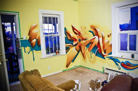 graffiti living room design painting and decorating decorating your home with graffiti and