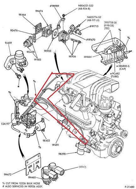 95 5 0 mustang intake vacuum diagram free image about