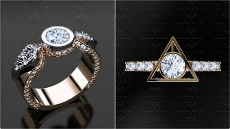 the harry potter engagement rings that will add magic to