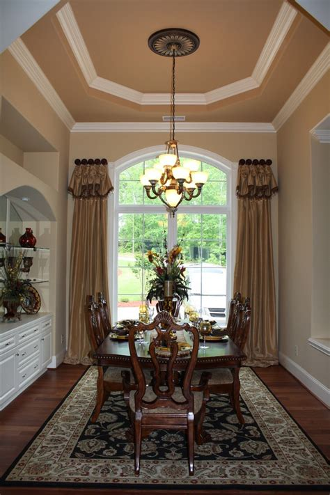 traditional window treatment traditional other metro by maria j window treatments and 1000 images about dining rooms on pinterest english romance chocolate brown and dining room