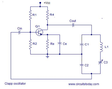 resistor capacitor oscillator calculator lc oscillators lc oscillators and types tank circuit working