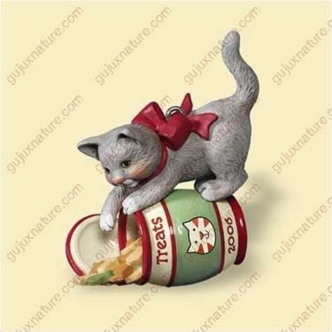 hallmark cat ornaments cat ornaments kritters in the mailbox animal items
