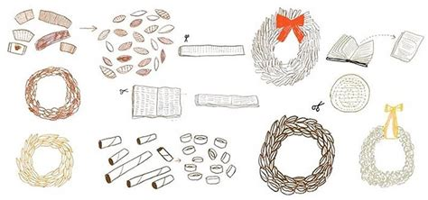 How To Make A Wreath Out Of Paper - 4 ways to make a wreath out of paper waste 171 the