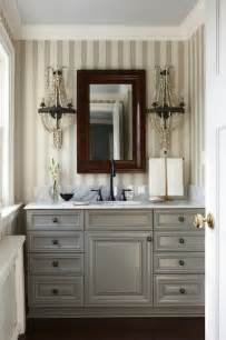 Kitchen Rectangle Carrera Marble Topped blue washstand cottage bathroom sherwin williams