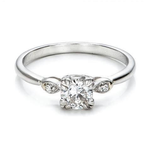 estate three engagement ring 100897