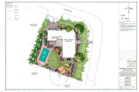 residential landscape design drawings www imgkid com the image kid has it