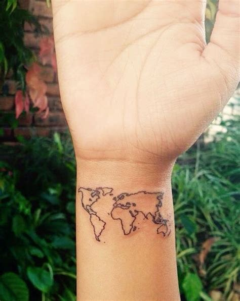 world tattoo wrist world map designs ideas and meaning tattoos for you