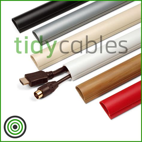 how to cover bare electrical wires d line 30x15 tv cable tidy cover wire hide trunking 25cm