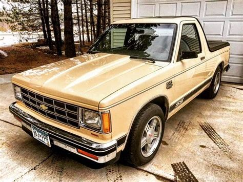 chevy s10 tahoe edition 1985 chevrolet s10 blazer tahoe edition 350 sbc s 10