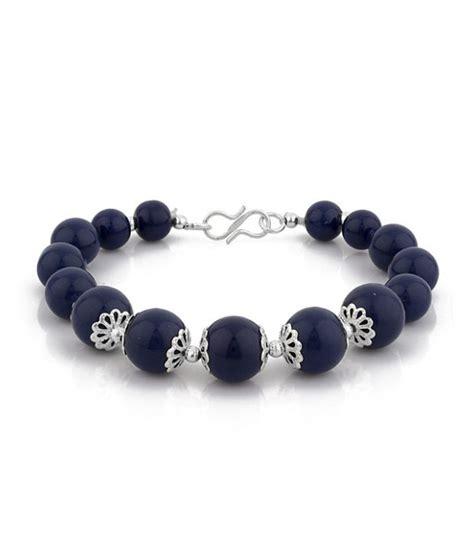 cool bead bracelets d d cool blue beaded bracelet buy d d cool blue beaded