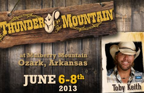 104 3 the fan text line thunder on the mountain country festival 104 9 the