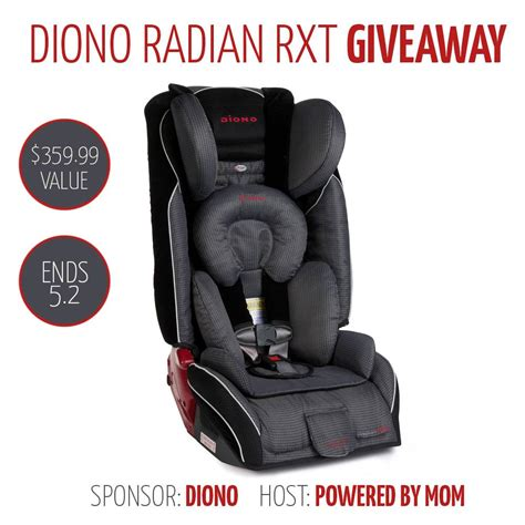 Carseat Giveaway - diono radian rxt car seat giveaway