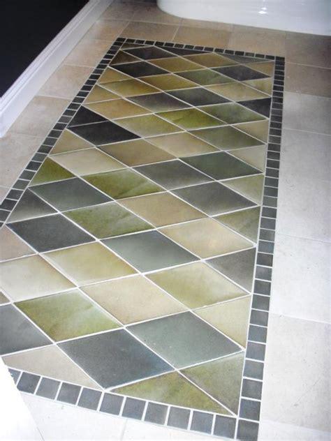 diy bathroom rug how to create an inlaid tile rug how tos diy