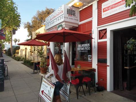 red house pizza tom yum and pizza on park san diego reader