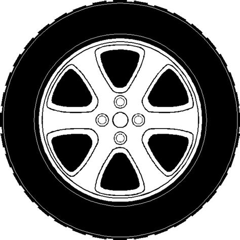 tire color tires clipart outline pencil and in color tires clipart