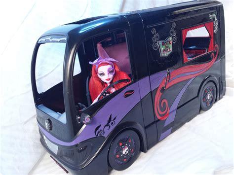 monster high doll house for sale monster high dollhouse operetta tour bus ebay