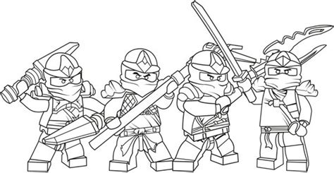 ninjago red coloring pages