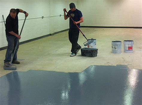 Industrial Floor Painting   Intercity Contractors