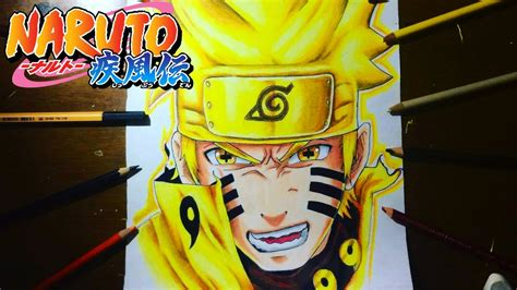 imagenes asombrosas de naruto como dibujar a naruto sennin modo kyubi how to draw