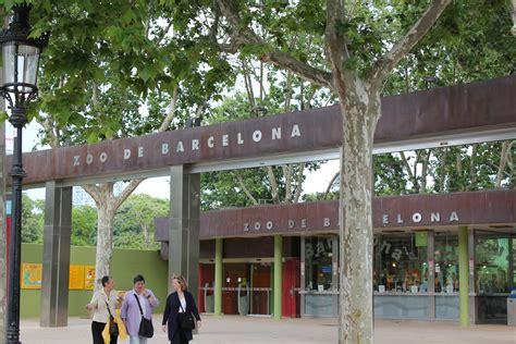 barcelona zoo file barcelona zoo entrance barcelona catalonia spain