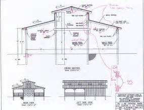 Barn Blueprints Monitor Barn Plans Google Search Barn Designs