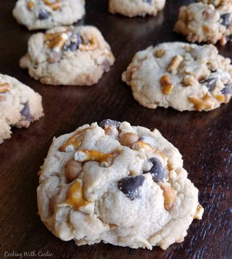 cooking  carlee kitchen sink cookies  panera copycat recipe