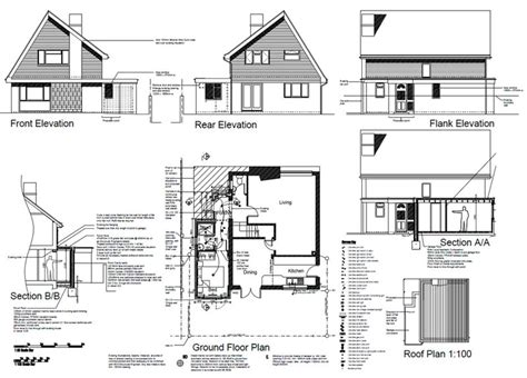 Garage Conversion Floor Plans by Sussex Architectural Services Previous Projects