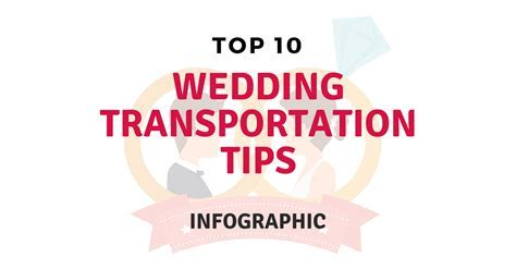 Top 10 Wedding Transportation Tips [Infographic]