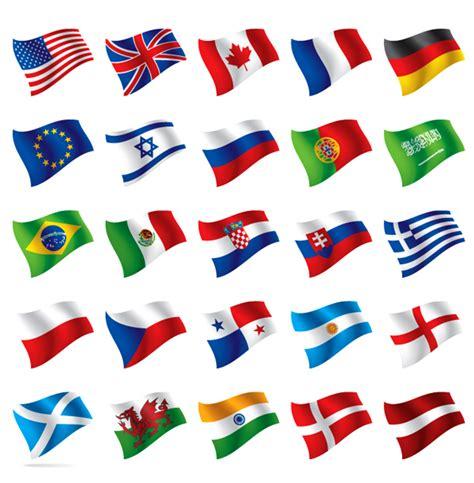 flags of the world games free 世界各国国旗标志矢量素材 其他矢量 懒人图库