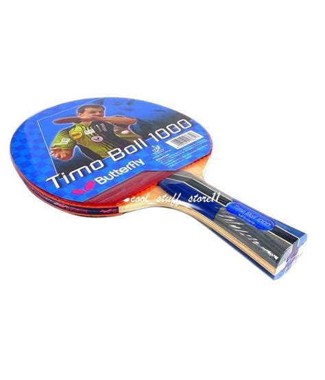 Bat Butterfly Timo Boll 1000 butterfly timo boll 1000 table tennis racket buy at best price on snapdeal
