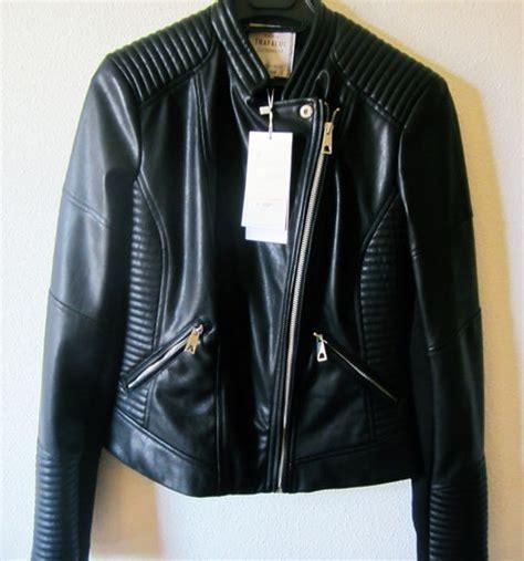 chaquetas de cuero hombre zara chaquetas de cuero en zara