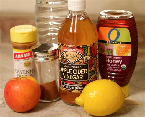 Apple Cider Vinegar Honey Detox by A Healthy Glow With Apple Cinnamon Detox Water Chiara