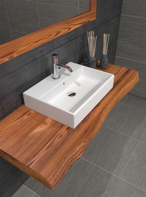 mensole per bagno in legno mensola da bagno in legno effetto rustico xlab