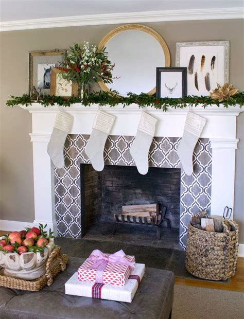 Black And White Fireplace Tiles by Our Fireplace Remodel We Tile Fireplace Remodel Tile And Fireplaces